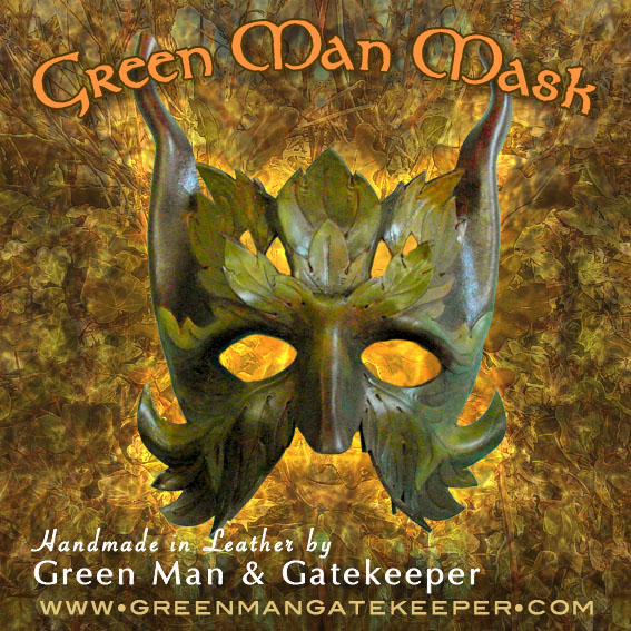 Green Man Masks